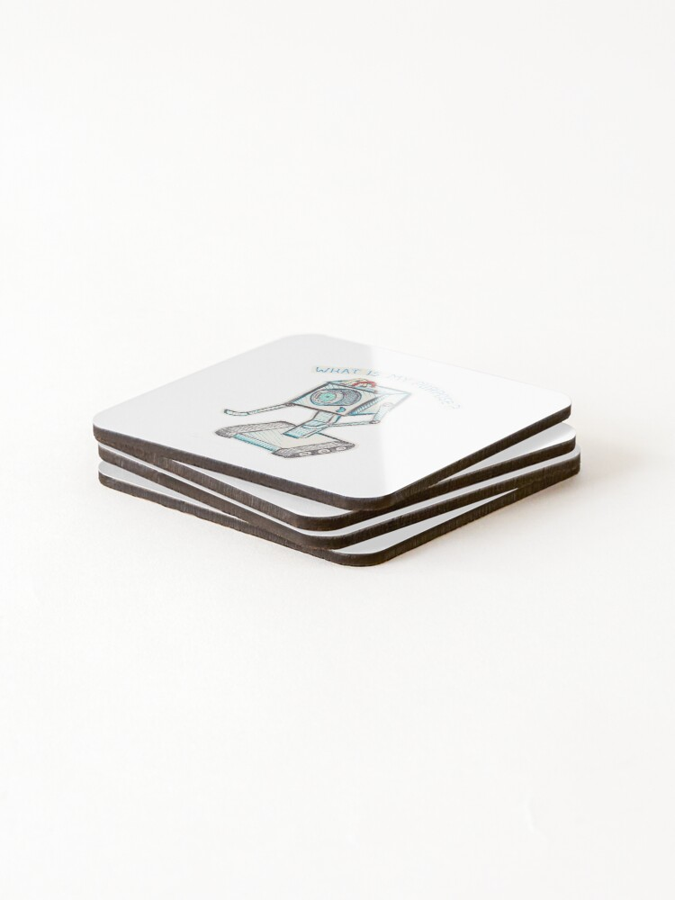 Alternate view of You Pass The Butter Coasters (Set of 4)