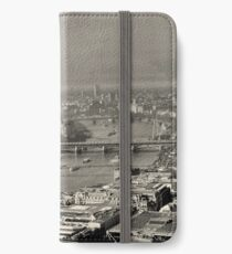 A London view iPhone Wallet/Case/Skin