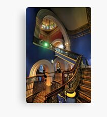 Victorian Majesty - The Queen Victoria Building Sydney - The HDR Experience Canvas Print