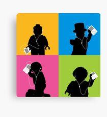 Lego iPod Advert Canvas Print