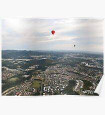 Paradise Ballooning Poster