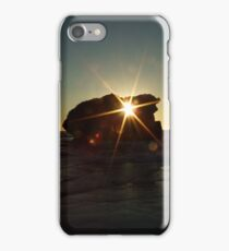 Rock Hole at Sunset Time- Two Rocks, Western Australia iPhone Case/Skin