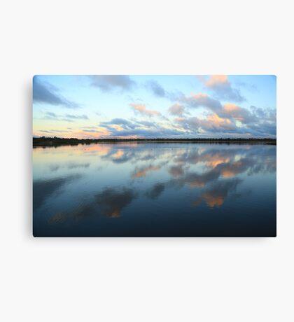 Bibra Lake setting sun - Perth, Western Australia Canvas Print