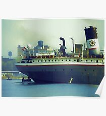 Great Lakes Freighter - Mississagi Poster