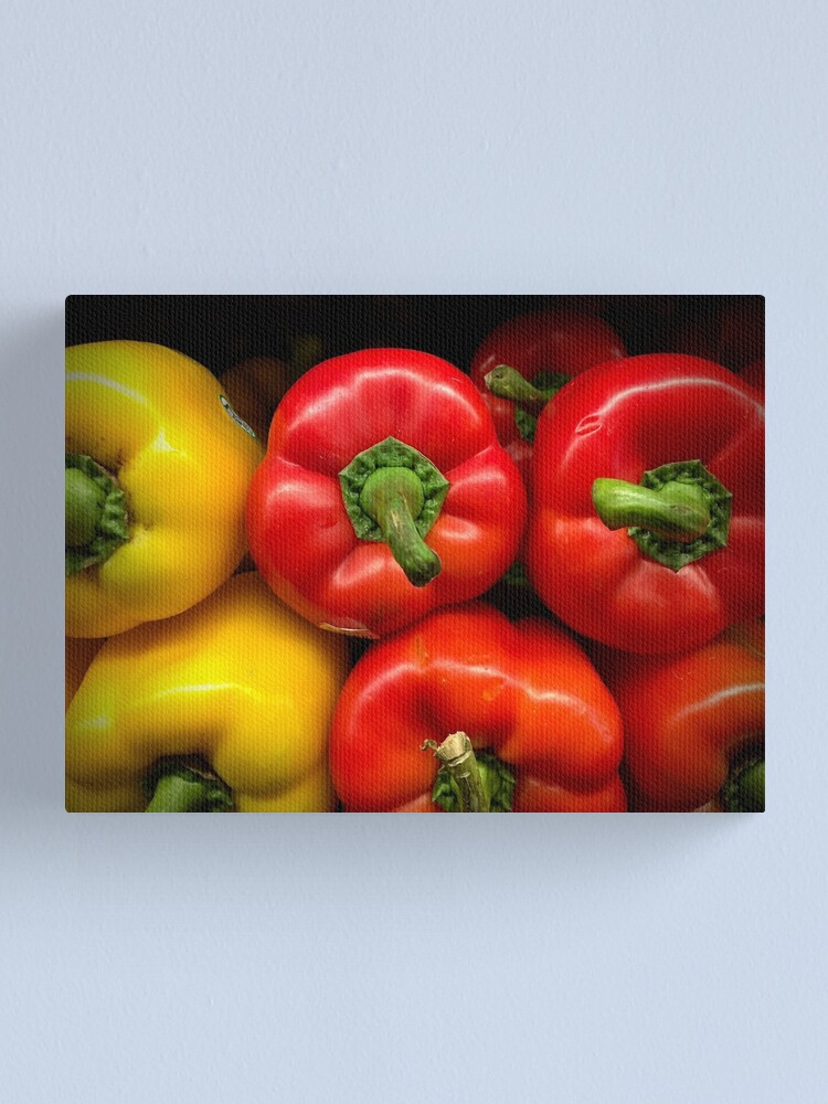 Alternate view of Garden Bounty - Peppers Canvas Print