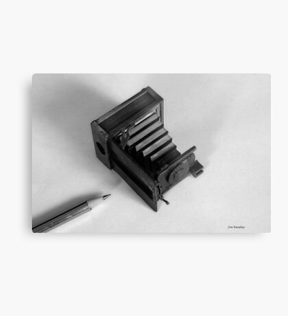 Words & Pictures Metal Print
