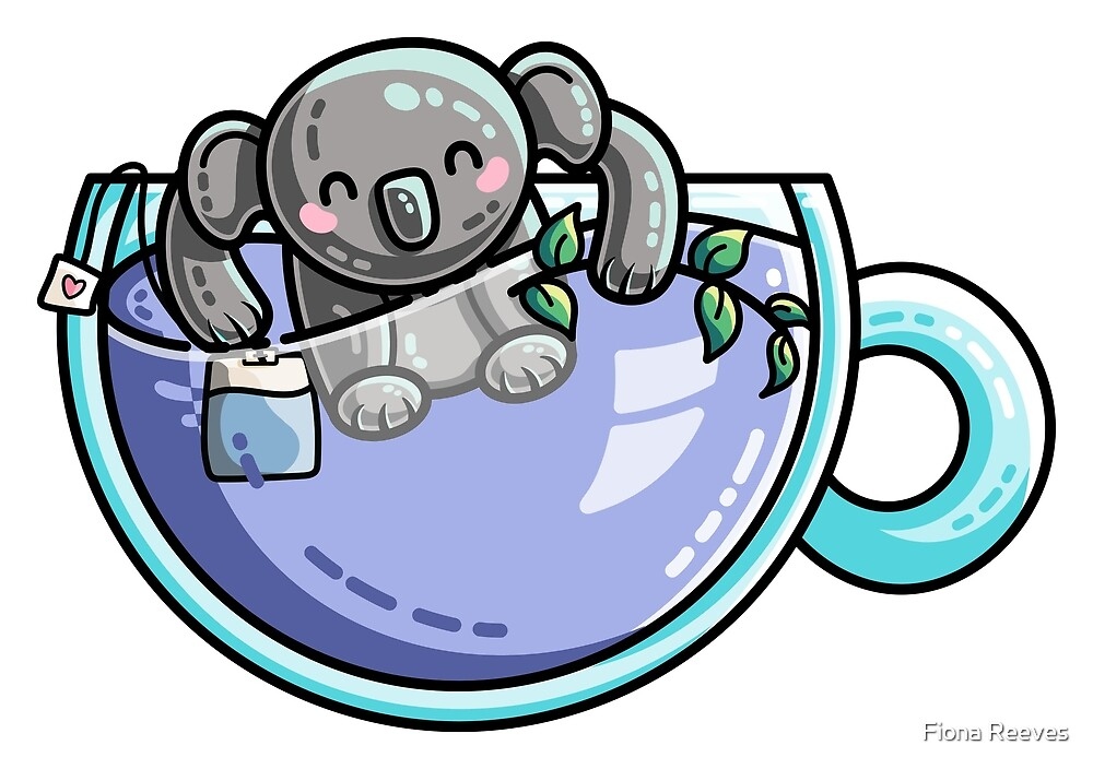 Quality Koala-Tea Pun by Fiona Reeves