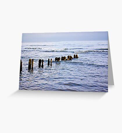 Sandsend Seascape Greeting Card