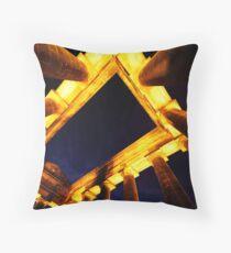Penshaw (Dusk Abstract) Throw Pillow