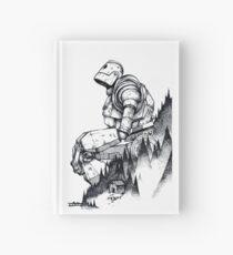 Cuaderno de tapa dura Gigante de hierro