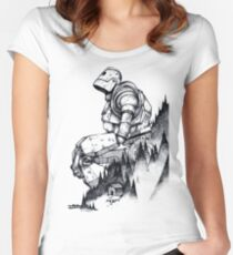 Iron Giant Fitted Scoop T-Shirt