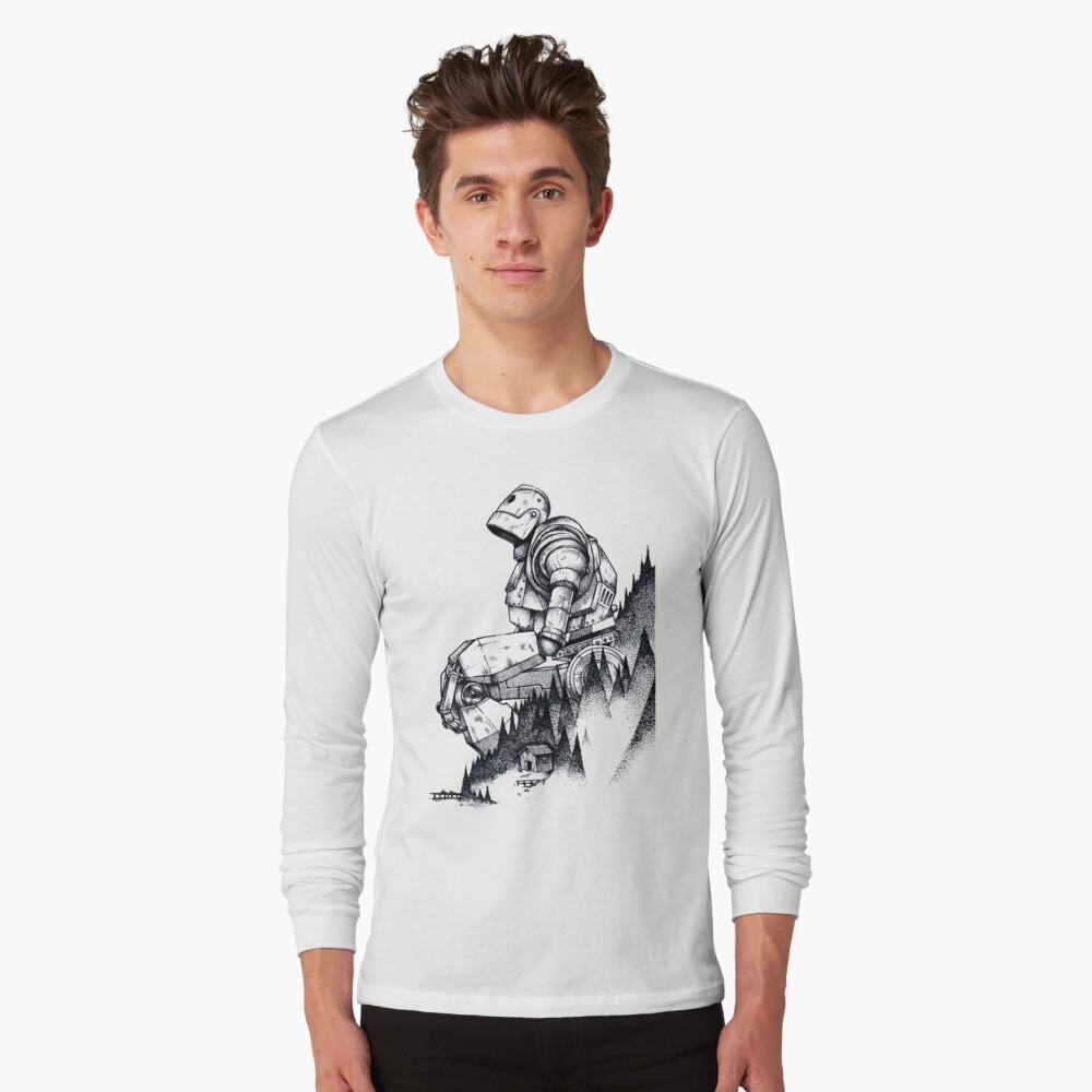 Iron Giant Long Sleeve T-Shirt