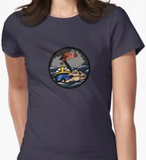 US Coast Guard Rescue Swimmer Storm - HH65 Fitted T-Shirt