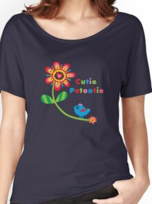 Cutie Patootie - on darks Women's Relaxed Fit T-Shirt