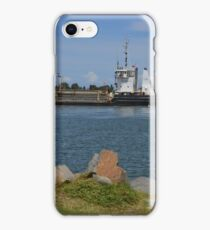 DAVID ALLAN - HARBOUR DREDGE iPhone Case/Skin