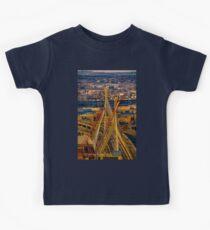 Leonard P. Zakim Bunker Hill Memorial Bridge Kids Tee