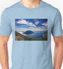 Ionian panorama from Xiromero Unisex T-Shirt