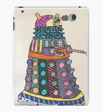 Dalek zentangle iPad Case/Skin