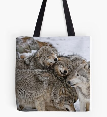 One Big Happy Family Tote Bag