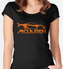 Mclaren P1 Women's Fitted Scoop T-Shirt