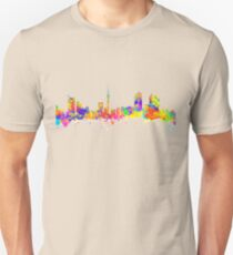 Auckland New Zealand Skyline T-Shirt