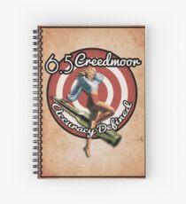 The Creedmoor Girl! Spiral Notebook