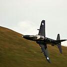 Hawk jet in Wales by Stephen Kane