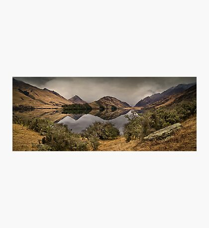 Moke Lake - Queenstown Photographic Print