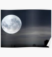 Silvery Moon ©  Poster