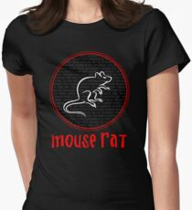 Mouse Rat Band Names  Womens Fitted T-Shirt