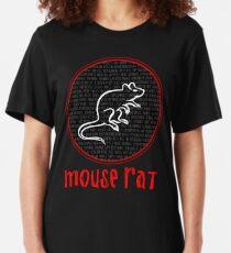 Camiseta ajustada Nombres de Rat Rat Band