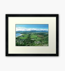 Benderloch from Ben Lora. Framed Print