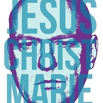 Jesus Christ Marie by jessuhcwah09