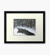Jordan River Framed Print