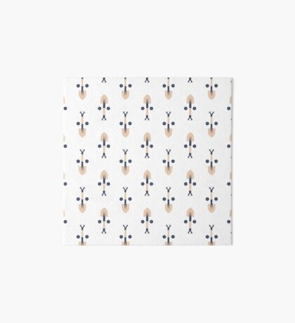 Find the Face: Construction Tools (Patterns Please Series) Art Board Print