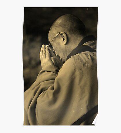 the Dalai Lama. aotearoa, new zealand Poster