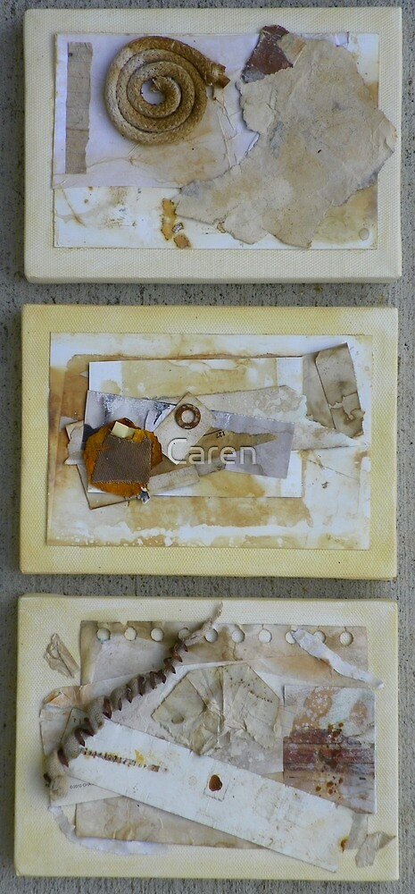 Collage Trio by Caren