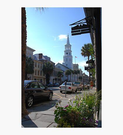 St. Michaels Church on Broad Street in Charleston Photographic Print