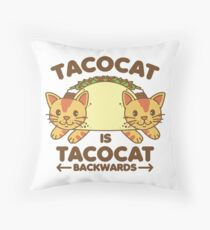 Tacocat Throw Pillow