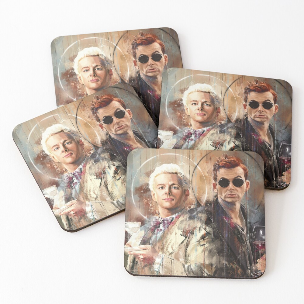 Let's go for a drink Coasters (Set of 4)