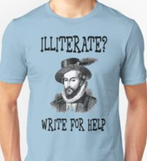 Illiterate ?  T-Shirt