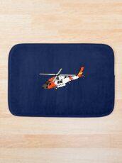US Coast Guard HH-60 Jayhawk Bath Mat