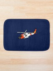 US Coast Guard HH-60 Jayhawk Bath Mat