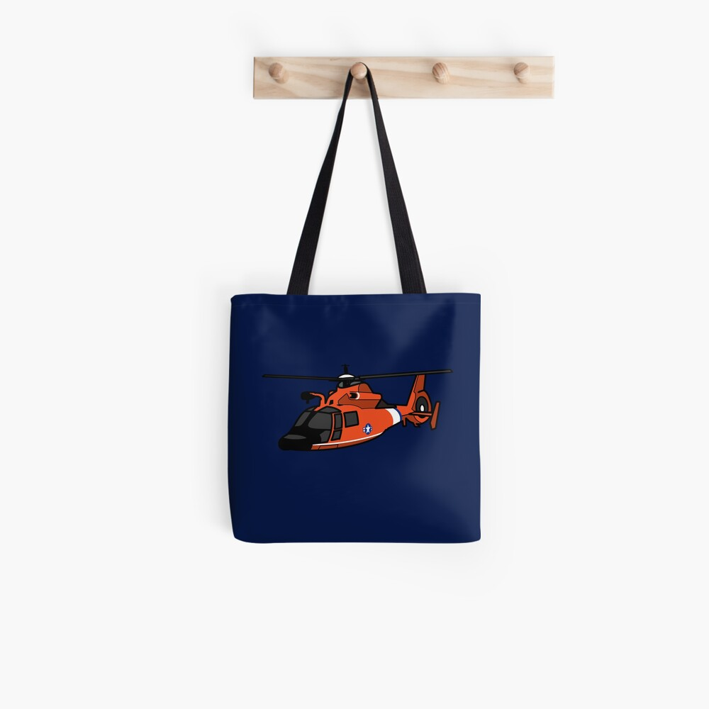 USCG HH65 Helicopter Tote Bag
