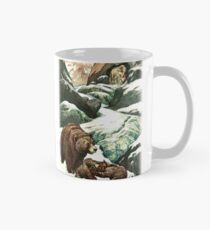 A MOUNTAIN CAVE WHICH NO PERSON HAD EVER SEEN from the story THE GOLDEN HORDE in The Russian Story Book Classic Mug