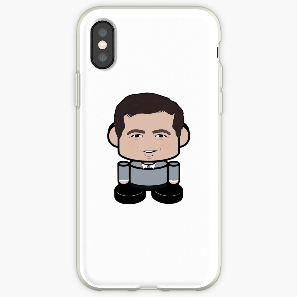 Mayor O'buttabot POLITICO'BOT Toy Robot iPhone Case & Cover