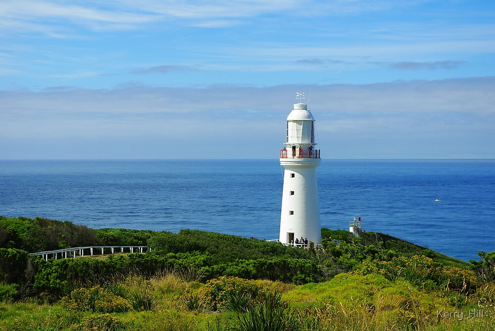 Cape Otway Lighthouse by Kerry  Hill