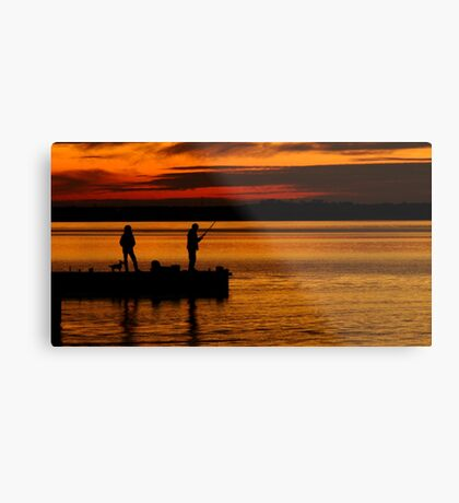 When Are We Going Home! Metal Print