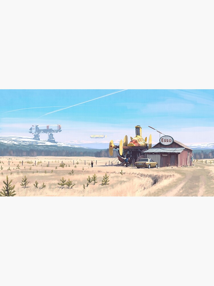 Essoladan by simonstalenhag