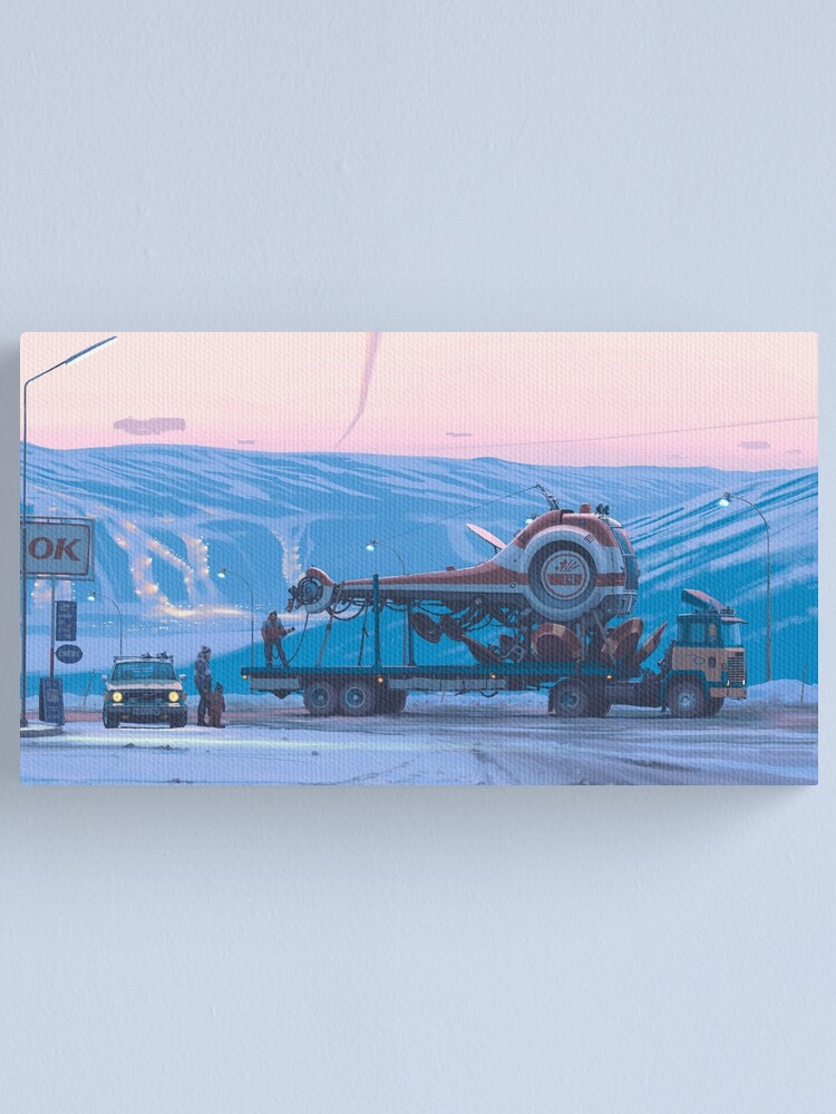Alternate view of Ship 14 Canvas Print